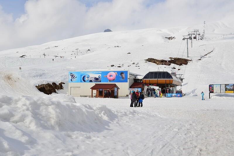 горнолыжный курорт в Грузии