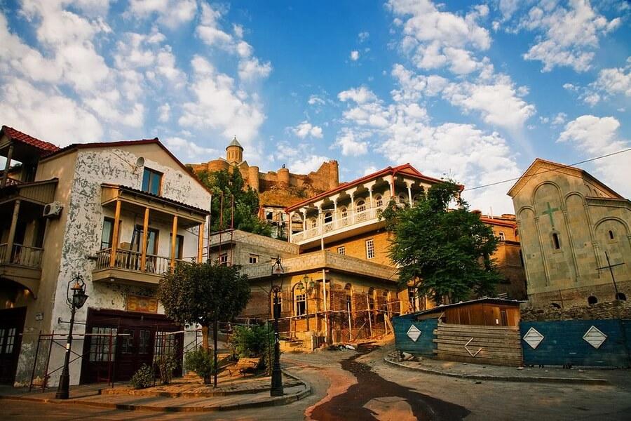 Где лучше жить в Тбилиси туристам