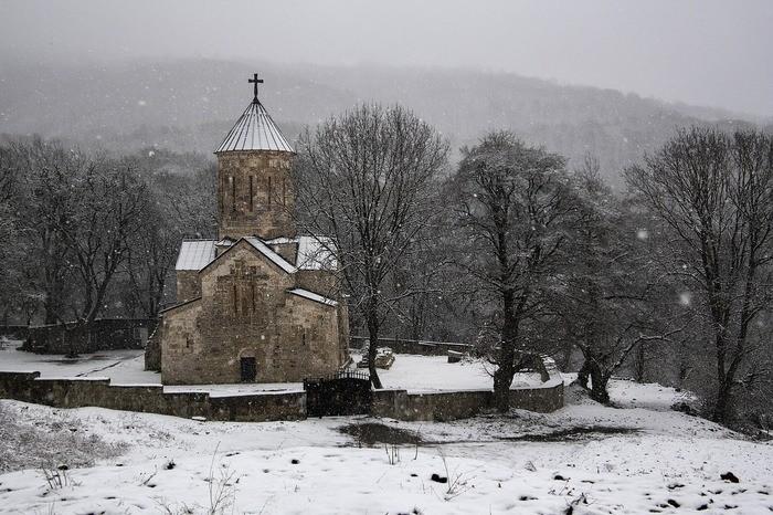 Грузия в январе