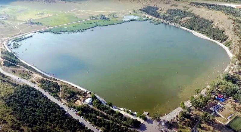 Озеро Лиси сверху