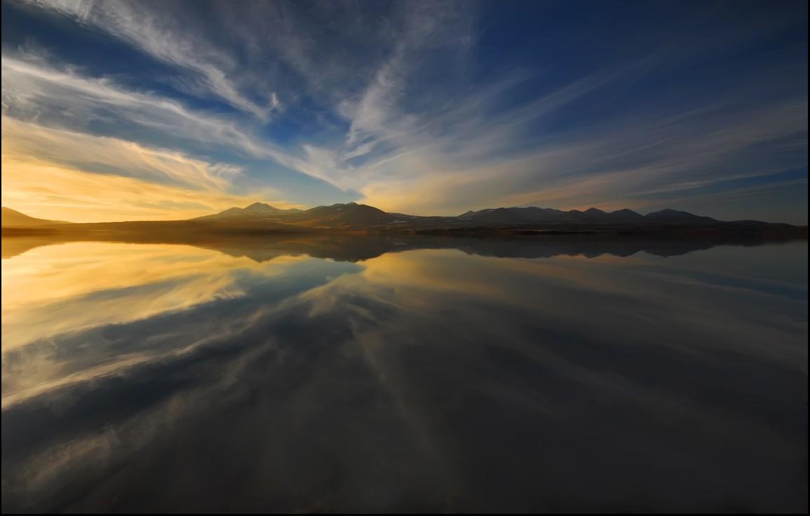 Вид на озеро Паравани